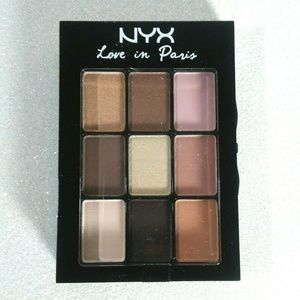 NYX Color Eyeshadow Palette~Love in Paris~Madelein